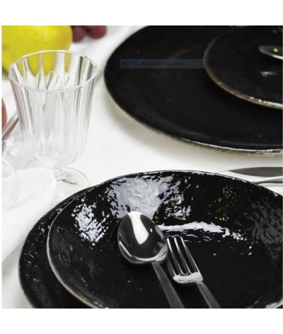 ASSIETTE REGLISSE MADE IN ITALY