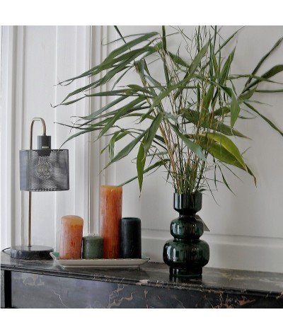 VASE VARSOVIE EN VERRE RECYCLE