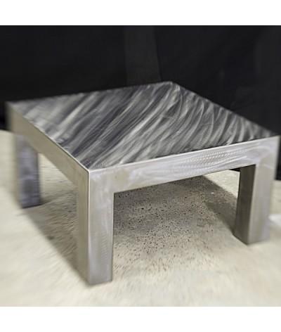 TABLE LOFT ACIER GRIS BY TERRE ET METAL