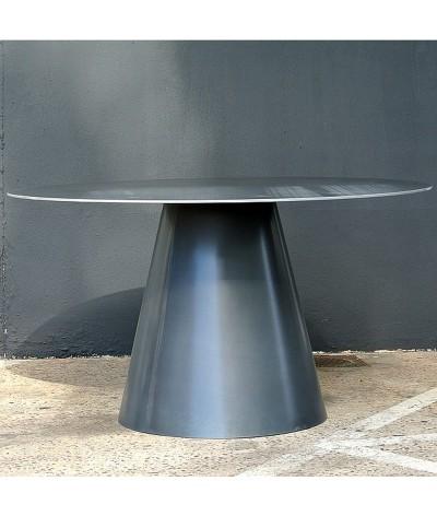 TABLE LOMBOK EN METAL TERRE ET METAL