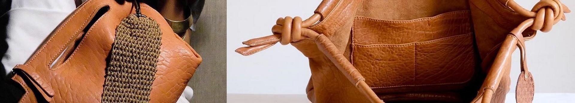Sélection de paniers, sacs, cabas en cuir, fibre, paille ....
